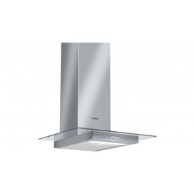 Bosch DWA06W450B stainless steel/glass cooker hood 60cm.