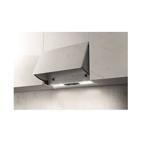 Neff D2654X0GB integrated pull out hood silver - 1